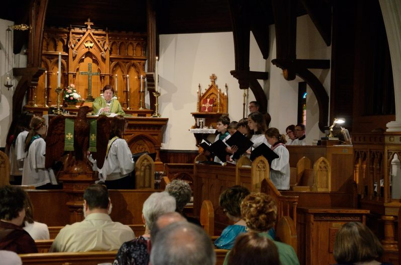 I think this was just after the offertory