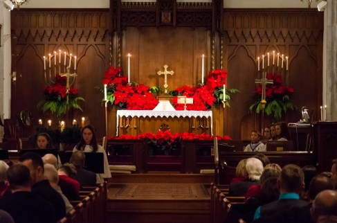 Christmas Altar. Copyright © 2014 Gary Allman, all rights reserved.