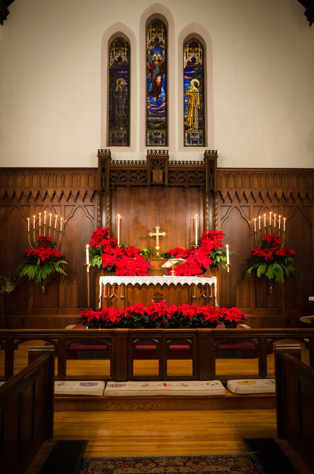 Altar & Flowers. Copyright © 2014 Gary Allman, all rights reserved.
