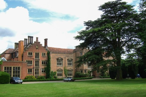I joined the Hadham Hall School in September 1967. The large set of windows on the left belonged to my first classroom. Copyright © 2007 Gary Allman, all rights reserved.