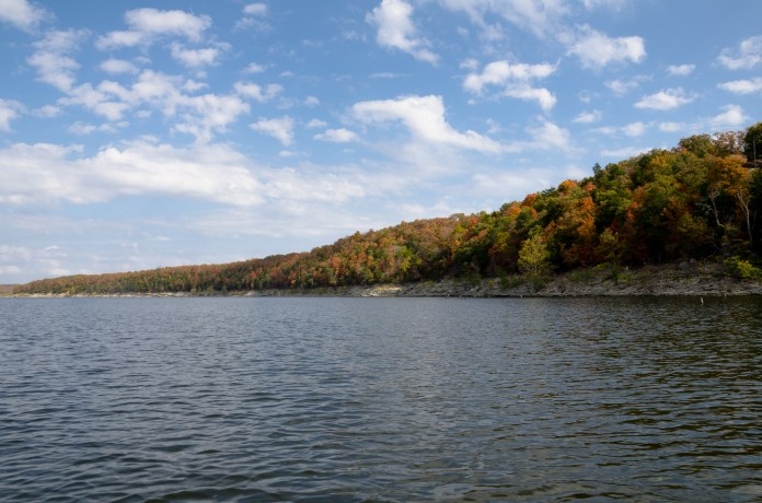 Fall at Pomme de Terre Lake, Missouri