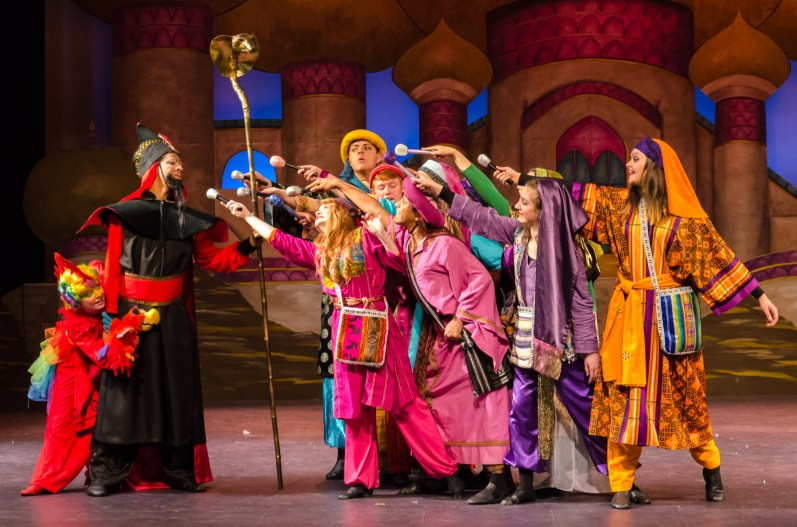 Aladdin Jr. at the Springfield Little Theater
