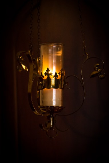 Sanctuary Lamp. Copyright © 2016 Gary Allman, all rights reserved.