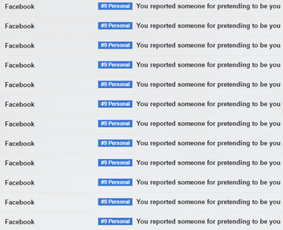 I've closed down over 70 Facebook accounts