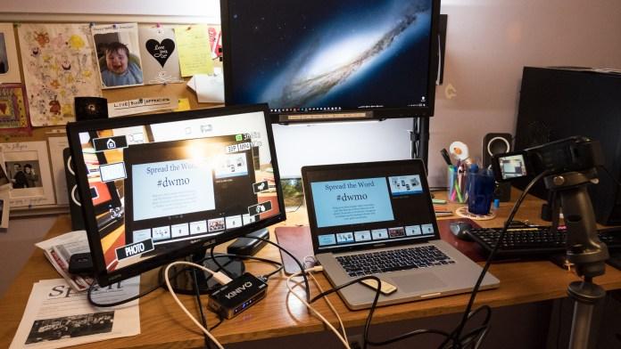 AV Test - The camera works ...