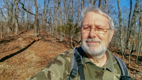 Gary on the ridge - Busiek Silver Trail. Copyright © 2018 Gary Allman, all rights reserved.