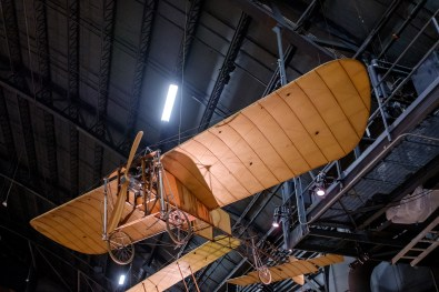 Bleriot Monoplane at the National Museum of the US Air Force.