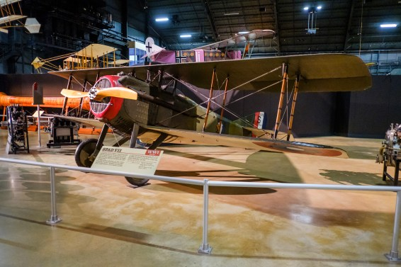 SPAD VII at the National Museum of the US Air Force.
