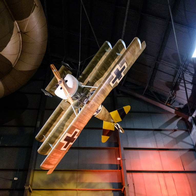 Fokker Dr. I (Reproduction) at the National Museum of the US Air Force.