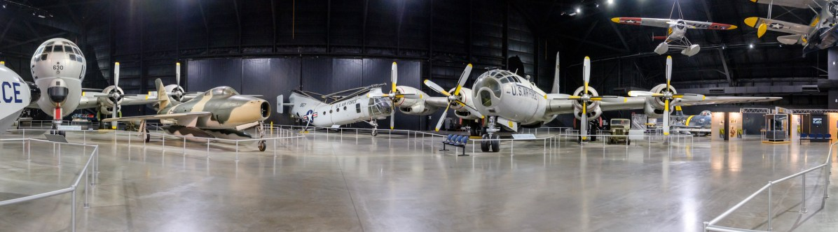 Right: Boeing WB-50D Superfortress. Copyright © 2018 Gary Allman, all rights reserved.