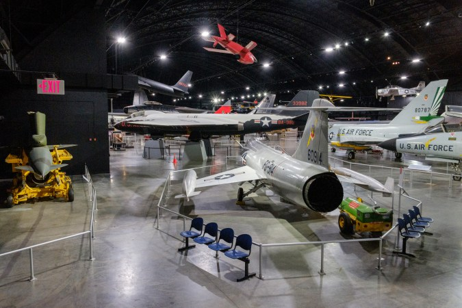 Cold War Exhibits at the National Museum of the US Air Force. Copyright © 2018 Gary Allman, all rights reserved.