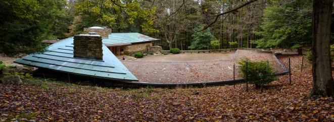 View from the sculpture garden