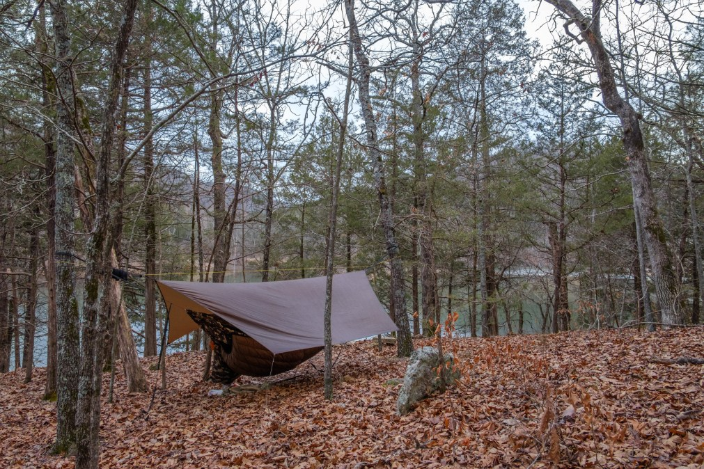 Camped by Table Rock Lake - This could easily become a favorite spot. Copyright © 2019 Gary Allman, all rights reserved.