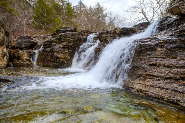 The Falls on Long Creek at Hercules Glades. Copyright © 2019 Gary Allman, all rights reserved.