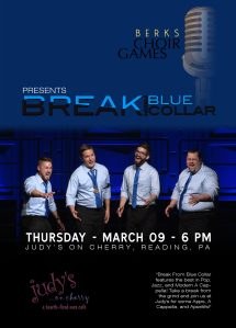 Berks Choir Games presents BFBC @ Judy's on Cherry | Reading | Pennsylvania | United States