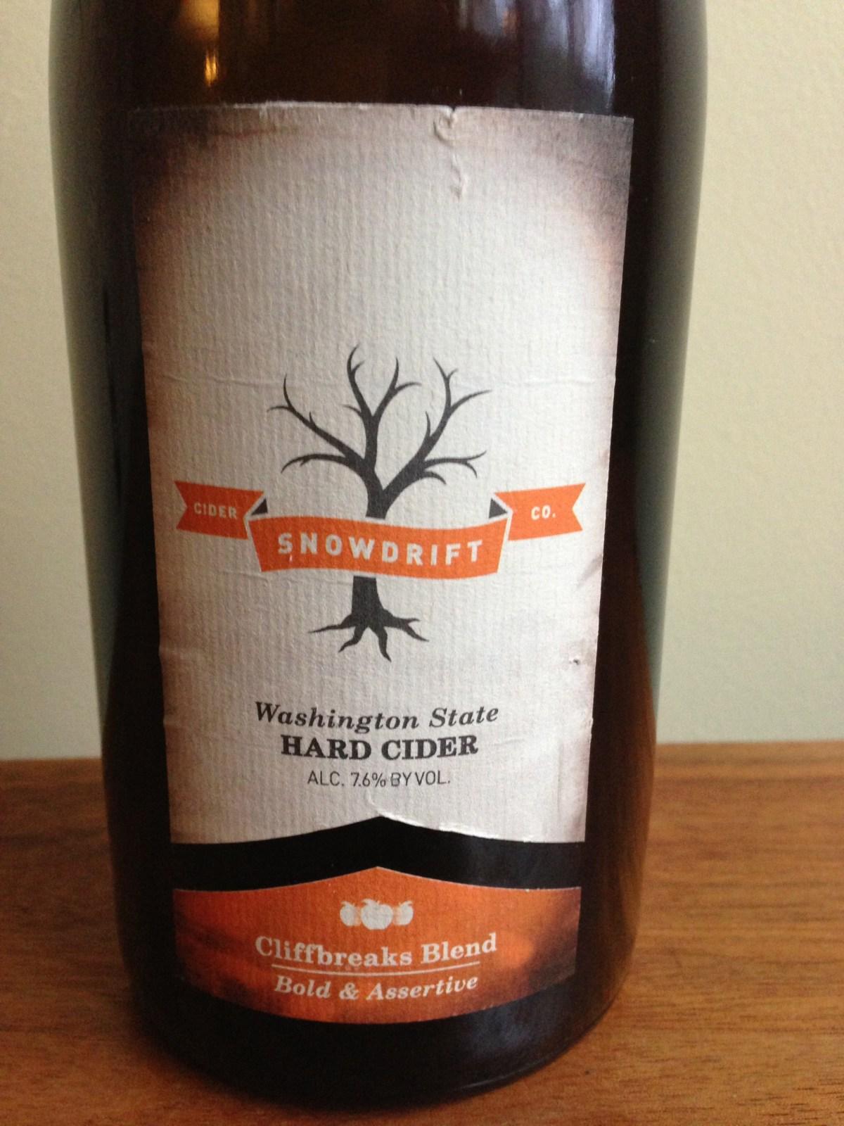 Snowdrift Cliffbreaks Blend Cider