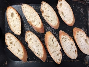 Image of Garlic Bread Ready for the Oven