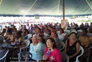 Crowd at Centennial Celebrations Mass