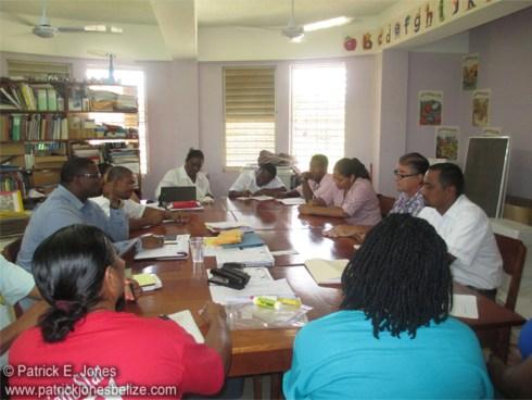 Schools Feeding programs discussed (Punta Gorda town)