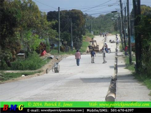 Street infrastructure works (Punta Gorda town)