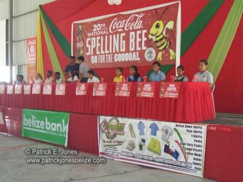 Coca Cola Spelling Bee (Cayo District Finals)