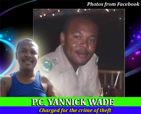 Yannick Wade (Charged for theft)