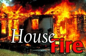 House fire in Hattieville
