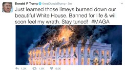 Trump Bans Brits From White House Tours