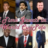 All Time Greats in Fifa World CupPele postre