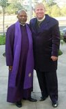 Bishop McKinney with Johnny Lee Clary