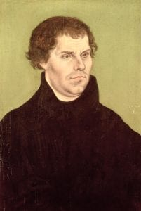 Martin Luther by Lucas Cranach (1472-1553) (Wikimedia Commons)