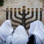 Menorah and Oil Stand Ready for Third Temple as Hanukkah Approaches