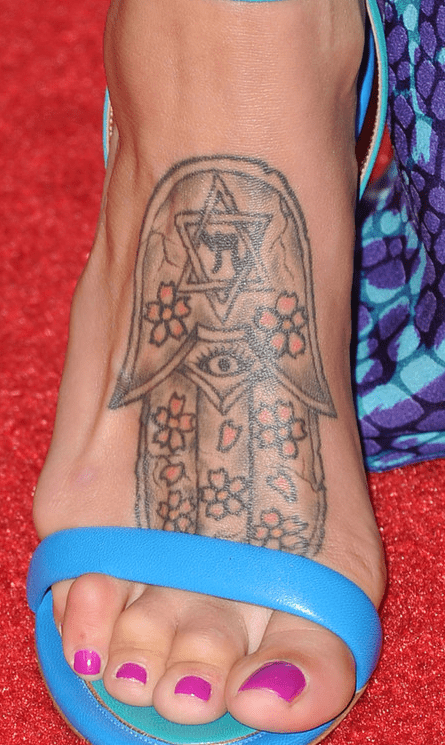 Hebrew Tattoos Feet