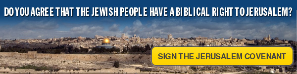 Do you agree the Jewish people have a Biblical right to Jerusalem?