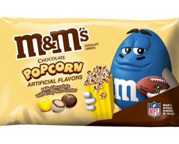 Popcorn M&M's Are on the Way
