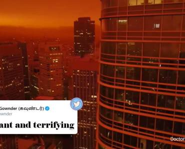 A video that combines San Francisco's orange sky with Blade Runner 2049 music goes viral