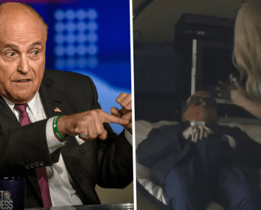 Rudy Giuliani Responds After Being Caught in 'Compromising' Scene in 'Borat 2'