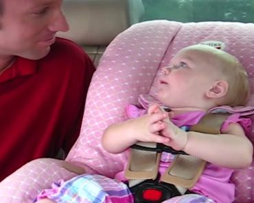 Cute Little Angel Talks To Her Daddy And Is Beyond Adorable