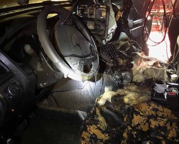 Portland police vehicle severely damaged by fire; arson investigation underway