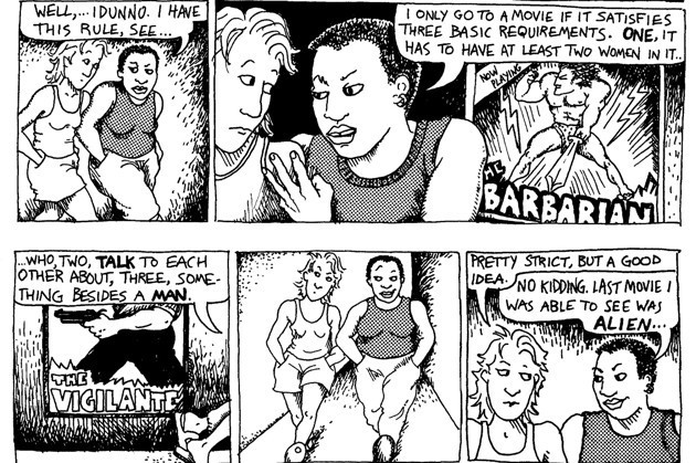 The Bechdel-Wallace test
