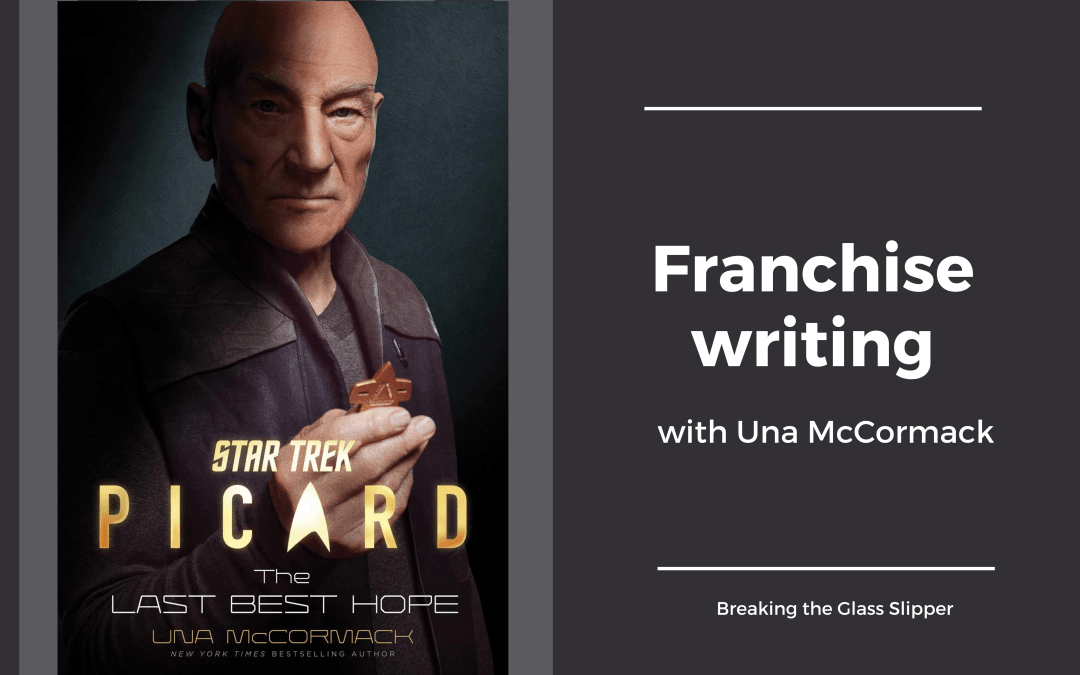 Franchise writing with Una McCormack