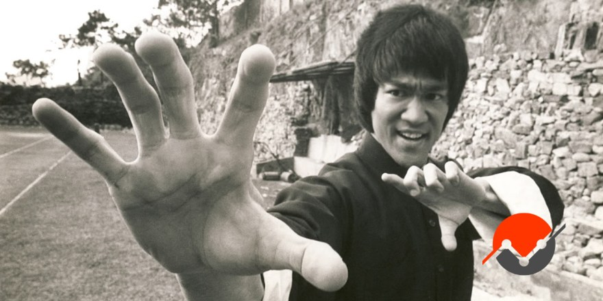 An image of Bruce Lee who, to my knowledge never used scrum or experienced the flawed logic of sprints