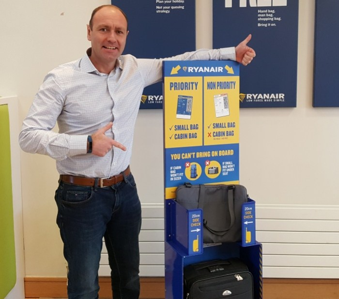 Non-priority Ryanair passengers to be forced to check luggage 1