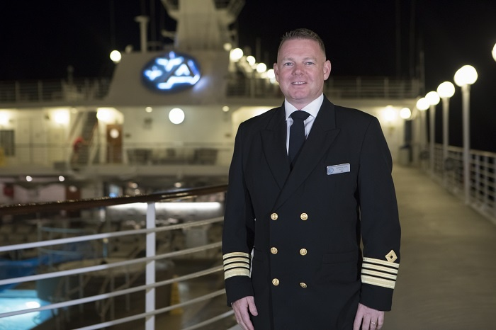 Smith named senior captain of upcoming Azamara Pursuit 1
