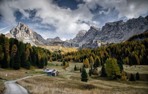 Dolomiten Herbst