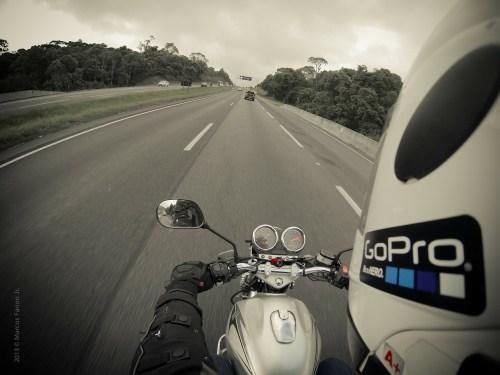 GoPro Biker