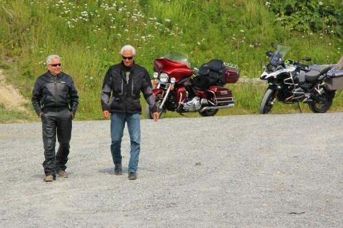 Harley und BMW
