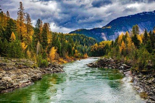 Fluss Montana