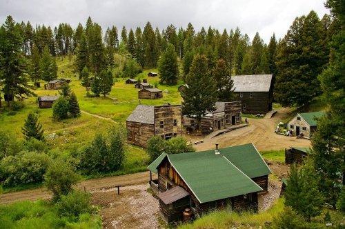 Garnet Ghost Town Montana