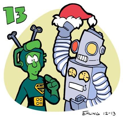 Dropo and Robot